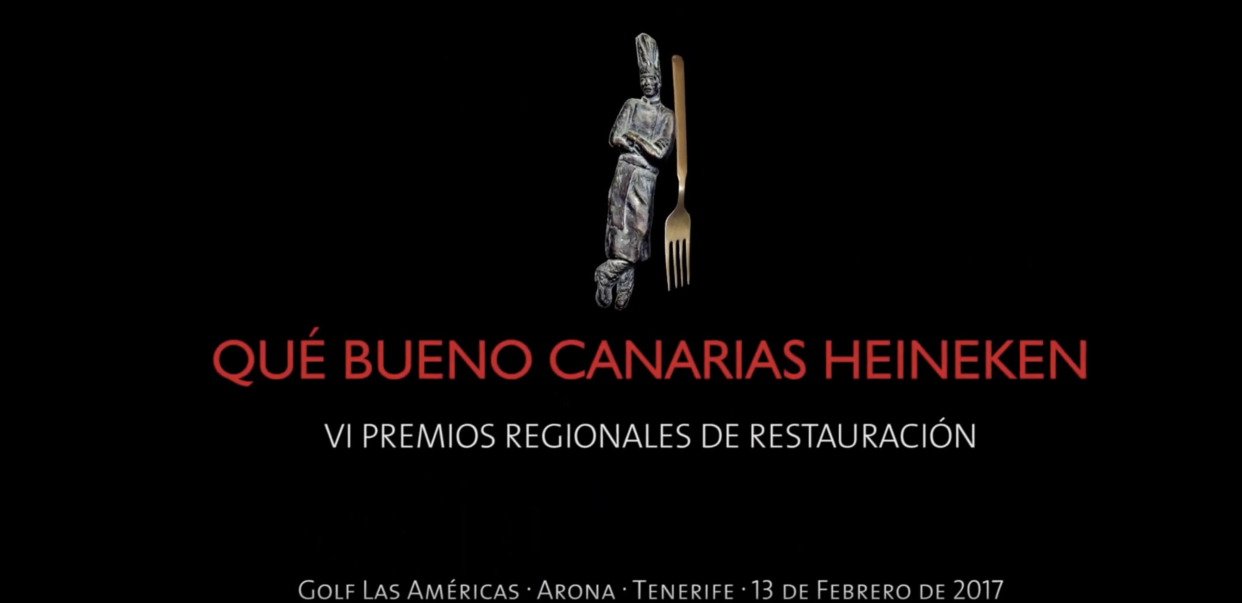 Premios Que Bueno Canarias. Guía Que Bueno canarias. La Mejor guía gastronómica de canarias