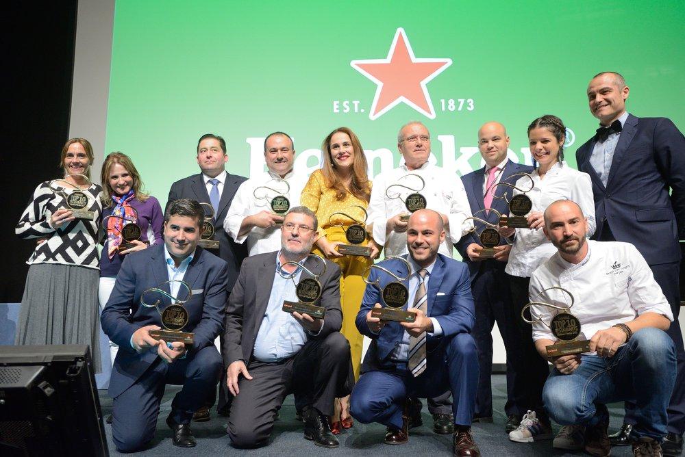 Así fue la VII Edición de los Premios Qué Bueno Canarias Heineken Top 10 Restaurants